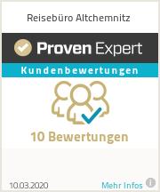 Erfahrungen & Bewertungen zu Reisebüro Altchemnitz